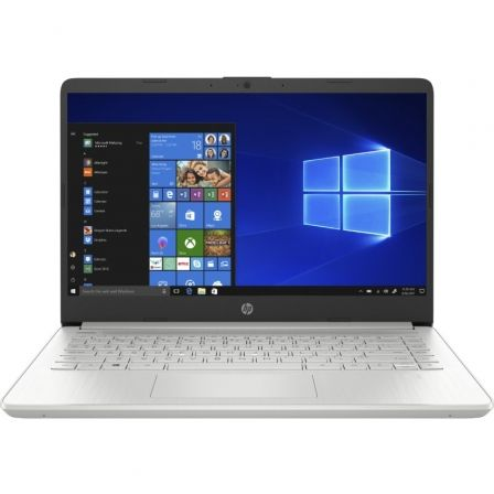 "PORTATIL HP 14S-DQ1037NS - WIN10S - I3-1005G1 1.2GHZ - 4GB - 256GB SSD PCIE NVME - 14""/35.6CM HD - HDMI - BT - NO ODD - PLATA NA"