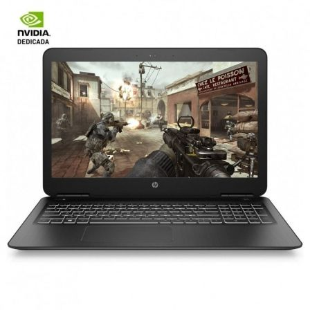 "PORTATIL HP 15-BC450NS - I5-8300H 2.3GHZ - 8GB - 1TB+128SSD - GEFORCE GTX1050 4GB - 15.6""/39.6CM FHD - WIFI AC - FREEDOS 2.0 - N 