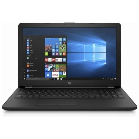 "PORTATIL HP 15-BS000NS - INTEL N3060 1.6GHZ - 4GB - 500GB - 15.6""/39.6CM HD - DVD RW - HDMI - 2XUSB3.1 - W10 HOME 64 - NEGRO AZA 