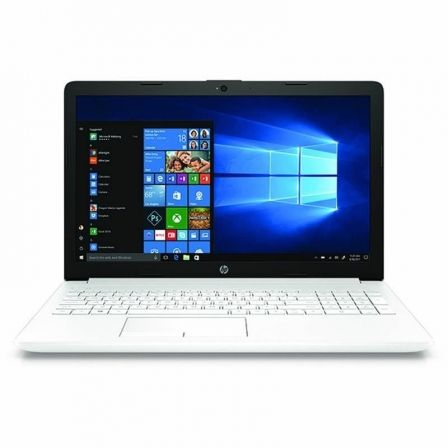 "PORTATIL HP 15-DA0070NS - I7-8550U 1.8GHZ - 8GB - 256GB SSD - 15.6""/39.6CM HD - HDMI - BT - W10 HOME - BLANCO NIEVE 