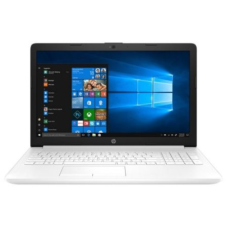 "PORTATIL HP 15-DA0183NS - W10 - I3-7020U 2.3GHZ - 4GB - 1TB - 15.6""/39.6CM HD - HDMI - BT - NO ODD - BLANCO NIEVE 