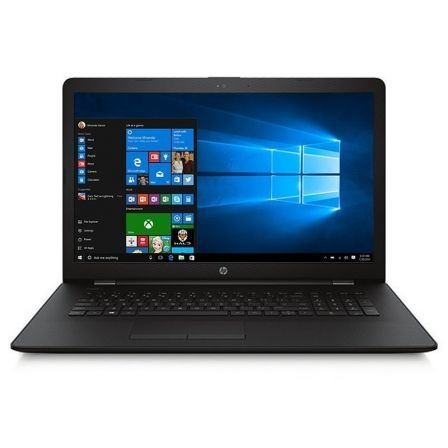 "PORTATIL HP 17-AK000NS - AMD A6-9220 2.5GHZ - 4GB - 500GB - RAD R4 - 17.3""/43.9CM HD+ - DVD RW - 2XUSB3.1 - USB2.0 - HDMI - W10"