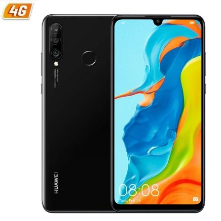 "SMARTPHONE MOVIL HUAWEI P30 LITE NEW EDITION MIDNIGHT BLACK - 6.15""/15.6CM - CAM (48+8+2MP)/32MP - OC - 256GB - 6GB RAM - ANDROI 