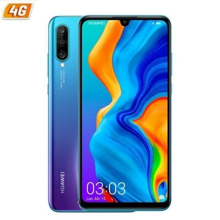 "SMARTPHONE MOVIL HUAWEI P30 LITE NEW EDITION PEACOCK BLUE - 6.15""/15.6CM - CAM (48+8+2MP)/32MP - OC - 256GB - 6GB RAM - ANDROID 