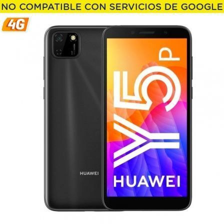 "SMARTPHONE MOVIL HUAWEI Y5P MIDNIGHT BLACK - 5.45""/13.8CM - CAM 8/5MP - OC - 32GB - 2GB RAM - 4G - ANDROID 10 AOSP - APPGALLERY 