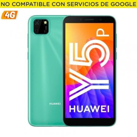 "SMARTPHONE MOVIL HUAWEI Y5P MINT GREEN - 5.45""/13.8CM - CAM 8/5MP - OC - 32GB - 2GB RAM - 4G - ANDROID 10 AOSP - APPGALLERY - BA 
