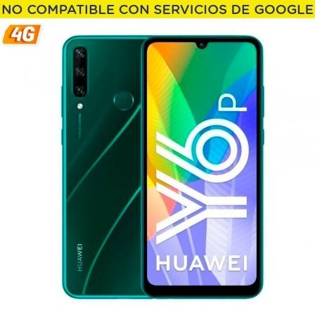 "SMARTPHONE MOVIL HUAWEI Y6P ESMERAL GREEN - 6.3""/16CM - CAM (13+5+2)/8MP - OC - 64GB - 3GB RAM - 4G - ANDROID 10 AOSP - APPGALLE 