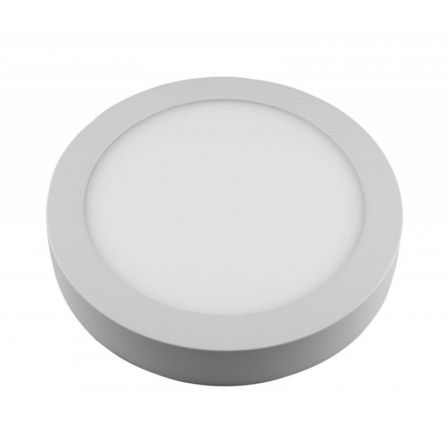 DOWNLIGHT SUPERFICIE CIRCULAR - SUP-102307-NB - 7W - 4000K - BLANCO- 540 LUMENES - O120X35 MM