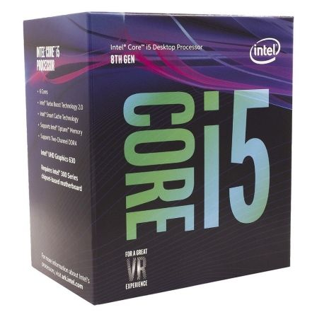 PROCESADOR INTEL CORE I5-8400 - 2.80GHZ - 6 NUCLEOS - SOCKET LGA1151 8TH GEN - 9MB CACHE - UHD GRAPHICS 630 | Procesadores intel