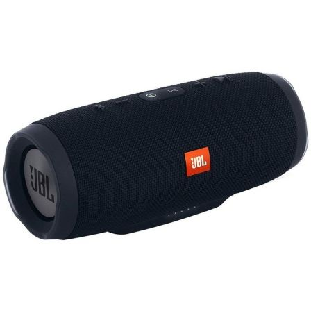 ALTAVOZ BLUETOOTH JBL CHARGE 3 BLACK - 2*10W - IPX7 RESIST. AL AGUA - BAT. 6000MAH FUNCION POWERBANK - FUNC. MANOS LIBRES | Altavoces bluetooth (bt)