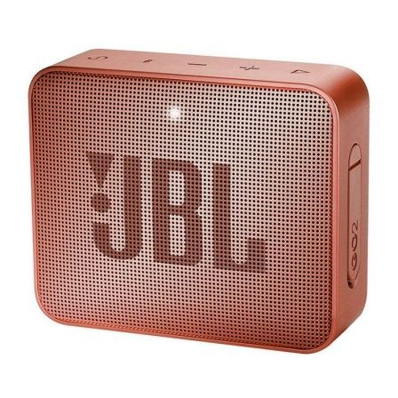 ALTAVOZ BLUETOOTH JBL GO 2 CINNAMON - 3W - BT4.1 - ENTRADA 3.5MM - IPX7 RESIST. AL AGUA - BATERIA RECARGABLE - FUNCION MANOS LIB | Altavoces bluetooth (bt)