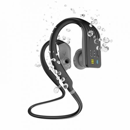 AURICULARES DEPORTIVOS JBL ENDURANCE DIVE BLACK - BT4.2 - GANCHO ADAPTABLE - IMPERMEABLES IPX7 - REPRODUCTOR MP3 INTEGRADO 1GB -