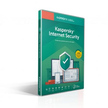 ANTIVIRUS KASPERSKY INTERNET SECURITY 2019 - 1 LICENCIA / 1 ANO ATTACHED - NO CD - PROTECCION EFICAZ - PARA PC/MAC/MOVILES - VEN |