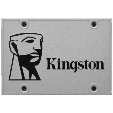 "DISCO SOLIDO KINGSTON UV400 240GB - SATA3 - 2.5"" / 6.35CM - LECTURA HASTA 550MB/S - ESCRITURA HASTA 490MB/S 