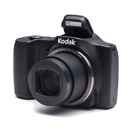 "CAMARA DIGITAL KODAK FRIENDLY ZOOM FZ201 NEGRA - 16MPX - LCD 3""/7.62CM - ZOOM 20X OPT - ANGULO 25MM - VIDEO 720P - USB - BATERIA"
