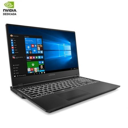 "PORTATIL LENOVO LEGION Y540-17IRH-PG0 81T30037SP - I7-9750H 2.6GHZ - 16GB - 1TB+512GB SSD - GEFORCE GTX1650 4GB - 17.3""/43.9CM F 