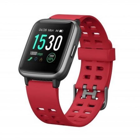 RELOJ INTELIGENTE LEOTEC MULTISPORT FIT 814 ROJO - PANTALLA COLOR 3.3CM - BT5.0 - PULSOMETRO DINAMICO - NOTIFICACIONES - CONTROL | Smartwatch