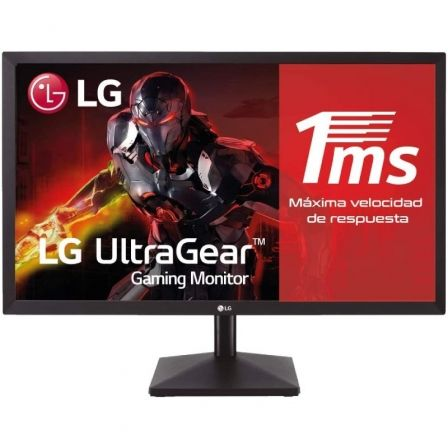 "MONITOR LED LG 24MK400H-B - 23.8""/60.5CM 1920*1080 FULL HD - 16:9 - 300CD/M2 - 2MS - HDMI - VGA - VESA 100*100 - NEGRO 
