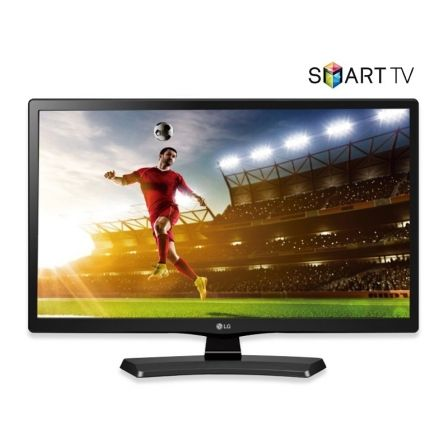 "TELEVISOR LED LG 24MT49S - 24""/60.9CM - 1366*768 - 16:9 - 200CD/M2 - 14MS - AUDIO 10W - 2*HDMI - USB - SMART TV - WIFI - LAN - F 
