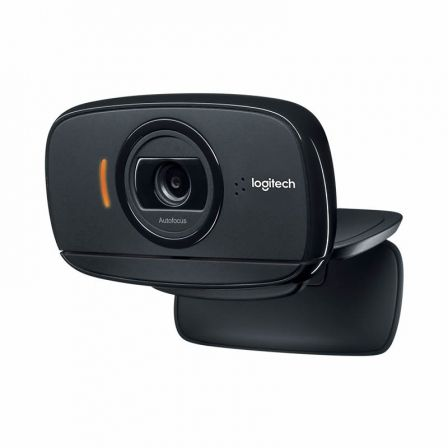WEBCAM LOGITECH B525 - FULL HD 1080P/30FPS - ENFOQUE AUTOMATICO - MICROFONO OMNIDIRECCIONAL - GIRO 360 - PLUG AND PLAY - USB |