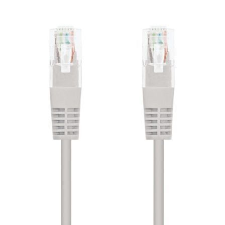 LATIGUILLO DE RED NANOCABLE 10.20.0400  - RJ45 - UTP - CAT6 - 0.5M - GRIS | Cables de red hasta 1 mt