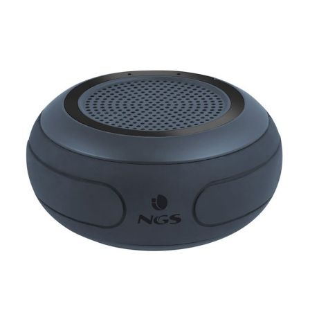 ALTAVOZ BLUETOOTH NGS WATERPROOF SPEAKER ROLLER CREEK BLACK - 10W - BT4.2 - IMPERMEABLE - BAT 850MAH - FUNC. MANOS LIBRES | Altavoces bluetooth (bt)