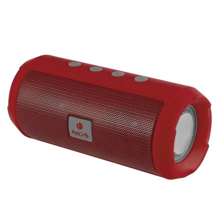 ALTAVOZ INALAMBRICO NGS ROLLER TUMBLER RED - BLUETOOTH 4.2 - 6W - RADIO FM - USB - RANURA TARJETA MICRO SD - MANOS LIBRES - BAT | Altavoces bluetooth (bt)