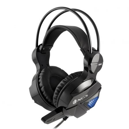 AURICULARES GAMING NGS GHX-500 - ESTEREO - DIAMETRO ALTAVOCES 50MM - MICROFONO INTEGRADO - 20HZ-20KHZ - LUCES LED - CABLE 2.2M | Gaming - auriculares