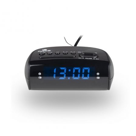 DESPERTADOR NGS SUNRISE HIT - DISPLAY LED - RAFIO FM/AM - ALARMA DUAL(RADIO/ZUMBIDO) - FUNCION SNOOZE/SLEEP TIMER - ALIMENTACION | Despertadores