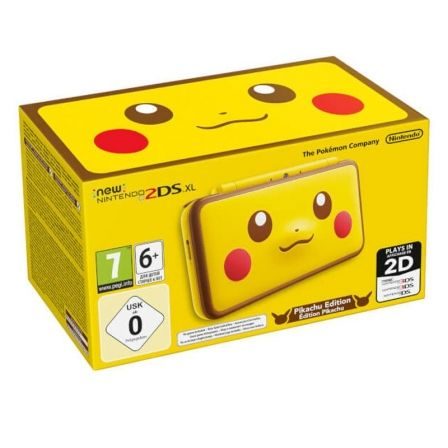 CONSOLA NINTENDO NEW 2DS XL PIKACHU EDITION | Nintendo