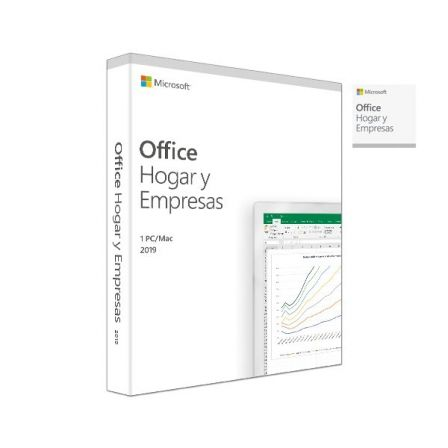 LICENCIA MICROSOFT OFFICE HOME & BUSINESS 2019 - 1PC/MAC - WORD - EXCEL - POWERPOINT - ONE NOTE - OUTLOOK - PKC