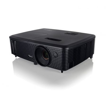 PROYECTOR PORTATIL DLP OPTOMA S321 - 3D READY - 3200 ANSI LUMENES - 22000:1 - 800X600 SVGA - VGA - COMPUESTO - RS232 - USB - LAM | Proyectores