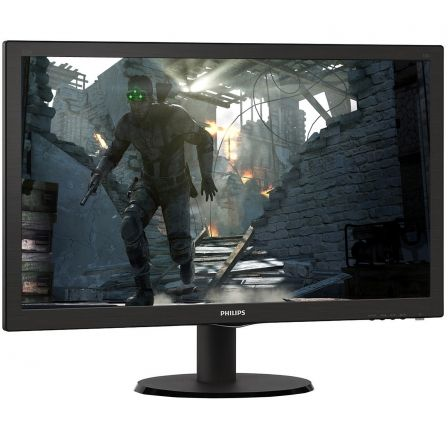 "MONITOR LCD PHILIPS 223V5LSB 21.5"" / 54.6CM 16:9 FULLHD 5MS 200CD/M2 10M:1 NEGRO 