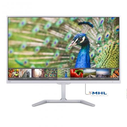 "MONITOR LED PHILIPS 246E7QDSW - 23.6""/59.95CM FULL HD - 1920 X 1080 - 60HZ - 5MS - 20M:1 - 250CD/M2 - VGA - DVI-D - MHL HDMI - B 