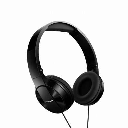 AURICULARES PIONEER PURE SOUND SE-MJ503-K NEGROS - DRIVERS 30MM - 10-24000HZ - 100DB - DIADEMA ANCHA - DISENO PLEGABLE | Auriculares