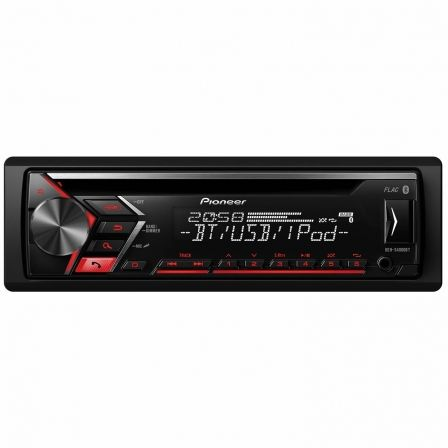 AUTORRADIO PIONEER DEH-S4000BT - CD - BLUETOOTH - MOSFET 50WX4 - FM/AM RDS - PANEL FRONTAL EXTRAIBLE - PANTALLA LCD - AUX IN - U | Car audio
