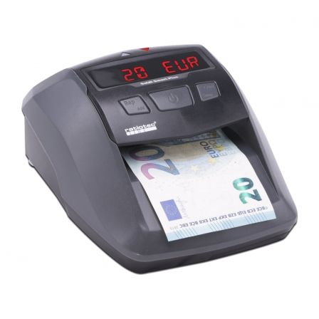 DETECTOR DE BILLETES RATIO-TEC SOLDI SMART PLUS -- PARA EUROS/LIBRAS/CHF - DETECCION IR | MG | BM | SD - DISPLAY LED Y SENAL ACU | Detectores billetes