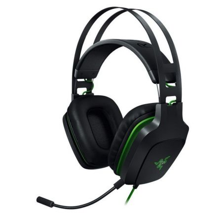 AURICULARES GAMING RAZER ELECTRA V2 NEGROS - 7.1 - DRIVERS 40MM - MICROFONO EXTRAIBLE - COMPATIBLES PS4/XBOX ONE/PC - CABLE JACK