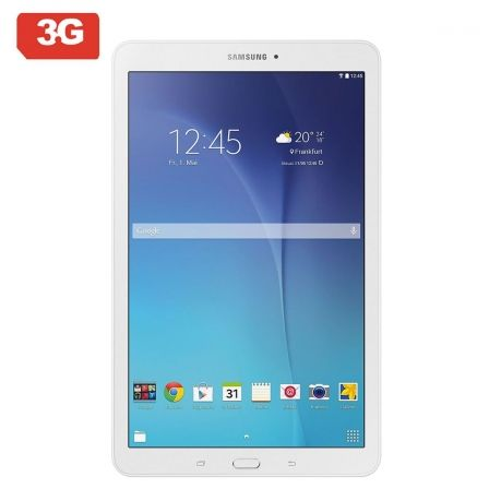 "TABLET SAMSUNG GALAXY TAB E T561 - QC 1.3GHZ - 8GB - 1.5GB RAM - 9.6""/24.3CM CAPACITIVA - ANDROID - 3G - BT4.0 - DUAL CAM 5/2MP 