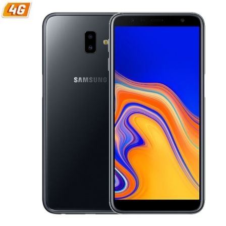 "SMARTPHONE MOVIL SAMSUNG GALAXY J6+ BLACK - 6""/15.26CM HD+ - CAM (13+5)/8MP - QC 1.4GHZ - 32GB - 3GB RAM - 4G - DUAL SIM - ANDRO"