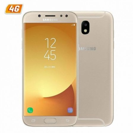 "SMARTPHONE MOVIL SAMSUNG GALAXY J5 (2017) ORO - 5.2""/13.2CM HD - DUAL CAM 13/13MP - OC 1.6GHZ - 16GB - 2GB - 4G - ANDROID - BT -"