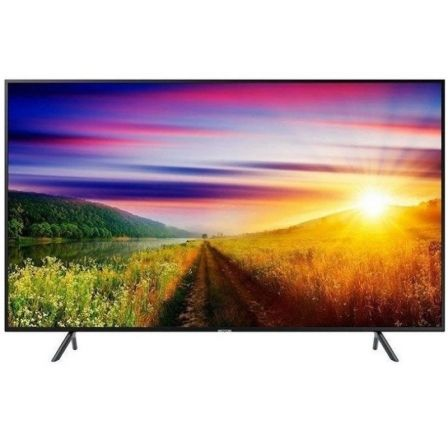 "TV LED SAMSUNG UE49NU7105KXXC - 49""/125CM - UHD 4K 3840X2160 - 1300HZ PQI - HDR 10+/HLG - AUDIO 20W - DVB-T2CS2 - SMART TV - LAN 