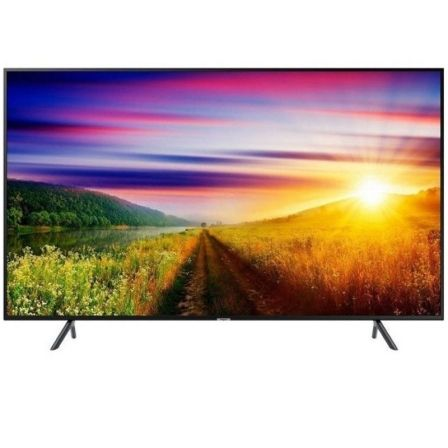 "TV LED SAMSUNG UE65NU7105KXXC - 65""/165CM - UHD 4K 3840X2160 - 1300HZ PQI - HDR 10+/HLG - AUDIO 20W - DVB-T2CS2 - SMART TV - LAN 