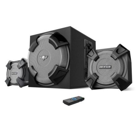 ALTAVOCES GAMING SPIRIT OF GAMER SGS 2.1 - 45W RMS - ENTRADA USB/SD - BLUETOOTH - MANDO INALAMBRICO