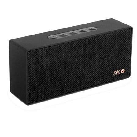 ALTAVOZ BLUETOOTH SPC BANG SPEAKER NEGRO - BT V2.1 - 8W - ALCANCE 10M - BAT. 1500MAH - FUNCION MANOS LIBRES