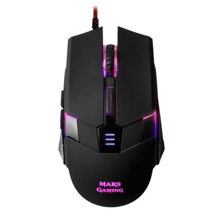 RATON MARS GAMING MM116 - SENSOR OPTICO PROFESIONAL 3200DPI - CAMBIO ALTA VELOCIDAD ON-THE-FLY - 6 B | Gaming - ratones