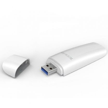 ADAPTADOR INALAMBRICO USB TENDA U12 - 802.11B/G/N/AC - 2.4GHZ/5GHZ - USB 3.0 - COMPATIBLE WINDOWS/MAC/LINUX | Adap. usb - wifi para interior