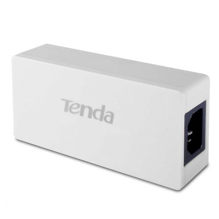 INYECTOR POE TENDA POE30G-AT - 2X PUERTO GIGABIT - 30W - HASTA 100M CON CABLES CAT. 5E/6 - PLUG AND PLAY | Adaptadores de red