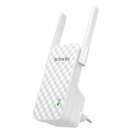 REPETIDOR WIFI TENDA A9 - 300MBPS - 2X 3DBI ANTENAS - COMPATIBLE CON CUALQUIER ROUTER 802.11B/G/N - SOPORTA WIX / WPA / WPA2
