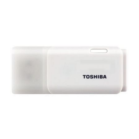 PENDRIVE TOSHIBA HAYABUSA 16GB - USB 2.0 - COLOR BLANCO | Pendrives